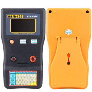 Mesr 100 Esr Capacitance Ohm Meter Capacitor Circuit Tester With Test Clips L1v4