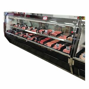 Howard mccray R cms40e 6 be led 76 Red Meat Deli Display Case