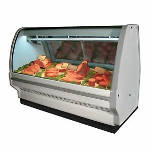 Howard mccray R cms40e 4c led 51 Red Meat Deli Display Case