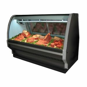 Howard mccray Sc cms40e 6c be led 75 Red Meat Deli Display Case
