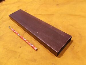 Rectangle Steel Tubing Structural Welded Tube Stock 1 X 3 X 080 Wall X 12