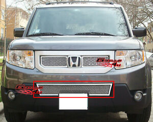 Fits 09 11 Honda Element Lower Bumper Stainless Steel Mesh Grille