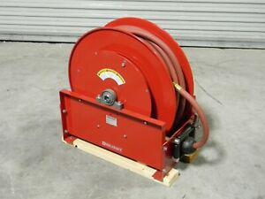 Reelcraft Heavy Duty Retractable Hose Reel 100 Ft X 3 4 In 250 Psi D9399 Olpbw