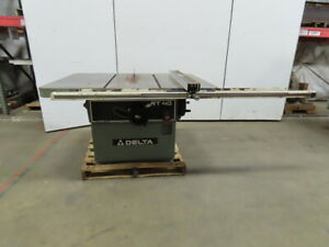Delta Rt40 36789 14 To 16 Table Saw 7 5 Hp 230 460v 3 Phase W rip Fence
