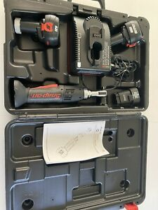 Snap on Tools Ctr2512 1 4 12v Cordless Ratchet Case Charger Batteries A5938