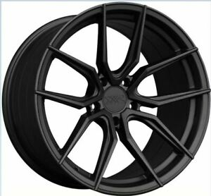 Xxr 559 19x8 5 5x114 3 20 Flat Graphite Wheels set Of 4