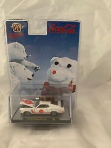 M2 MACHINES Coca-Cola 1970 Ford Mustang Boss 302 Christmas Polar Bear 2019