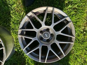 2011 2012 Ford Mustang Gt500 Svtpp Svt Performance Pack Wheels Staggered Set
