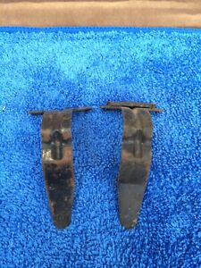 1967 Mustang Shelby Used Original Deluxe Bucket Seat Back Mounting Brackets