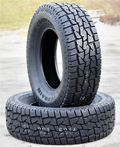 2 Dean Tires Back Country Sq 4 All Terrain Lt 285 75r18 Load E 10 Ply A T Tires