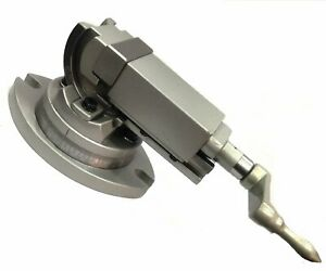 Precision Milling Vise Vice Swivel Angle Tilting 2 Way jaw 2 Inches 50 Mm