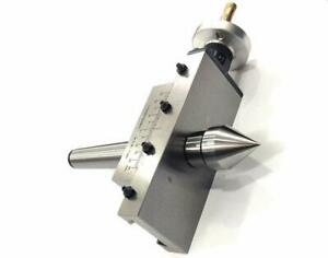 Precision Taper Turning Attachment With Dead Center metric mt3