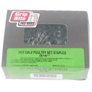 Prime Source Hot Galvanized Poultry Net Staples 34hgpns1