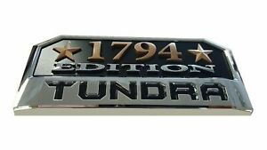 Toyota Tundra 1794 Edition Emblem 14 20 Front Door Badge Sign Symbol Logo
