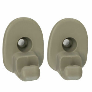 2 X Sun Visor Clips Retainer Replacement For 05 12 Jeep Liberty Dodge Nitro
