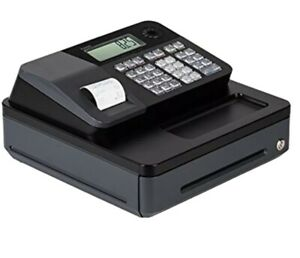 Casio Programmable Lockable Electronic Cash Register High Speed Tax Function New