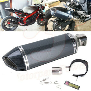 Universal 38 51mm Motorcycle Atv Slip on Exhaust Muffler Pipe Db Killer Silencer