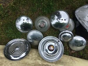 Buick Chevy Ford Vintage Hub Caps Rims Packard Lot
