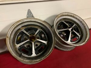 2 1969 1970 Chevrolet Chevelle Camaro Nova 14x7 Rally Wheel M19 Ya Gm 69 70