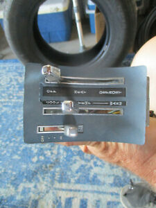 1971 72 73 74 75 76 77 Ford Maverick Heater Control Panel Switch Controls Cover