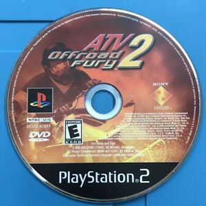 ATV Offroad Fury 2 PlayStation 2 PS2 DISC ONLY RESURFACED Tested with Tracking