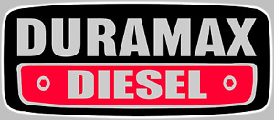Duramax Diesel Logo Decal Sticker Choose Size 3m Laminated Buy 3 Get 1 Free