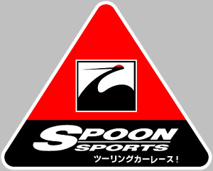 Spoon Sports Logo Decal Sticker Choose Size 3m Laminated Buy 3 Get 1 Free