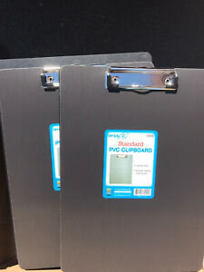 Lot Of 48 Transparent Plastic Clipboard 12 5 x 9 5 Free Shipping