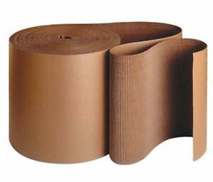 Kraft Corrugated Roll Singleface Kraft A Flute Corrugated 250 Ft 3 To 72 Wide