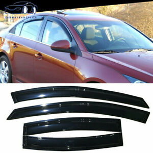 Fit For 11 15 Chevy Cruze 2011 2015 Abs Window Visors 4pc