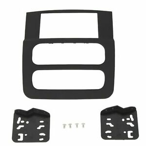 High Grade Dash Kit For 2002 2005 Dodge Ram 1500 2500 Double Din Stereo Abs