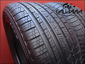 2 Tires Likenew Pirelli Scorpion Verde All Season 255 55r19 2555519 111v 52856