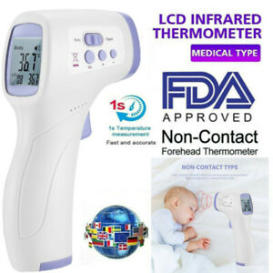 Non contact Lcd Laser Infrared Digital Temperature Thermometer Gun Pyrometer W