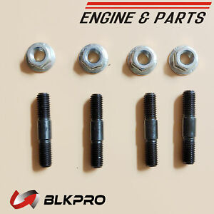 Studs Bolts Nuts Turbo Turbocharger Mounting Install For Dodge 6 7 Cummins 03 06