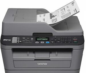 Brother Laser Fax Printer Scan Wireless Usb Ethernet 24ppm Mfc l2685dw