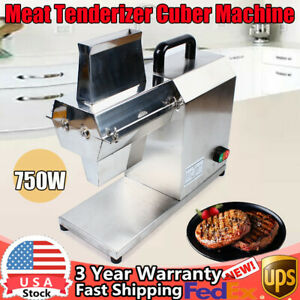 750w Electric Meat Tenderizer Machine For Restaurant Steak Tenderizer Cuber Set
