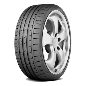 4 Continental Contisportcontact 3 265 35r18 97y Xl Mo Dc Performance Tires