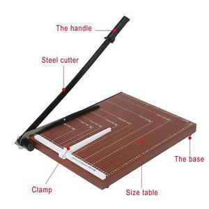 A3 Paper Cutter Paper Trimmer With Adjustable Guide Guillotine Paper Cutter