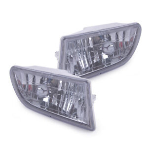 Pair Front Bumper Fog Light Lamp Fit For Toyota Corolla Ae100 Ae101 Fr 93 97