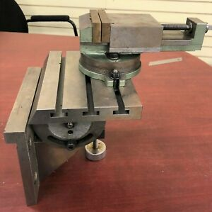 Aciera Sixis Quality Tilting Milling Table And Vise Made In Switzerland