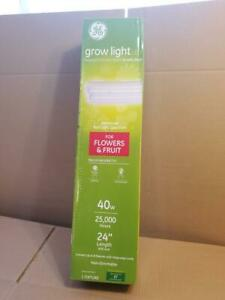 Ge Grow Lighting Led 40w 24 Grow Light Fixture Indoor Plants