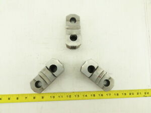 Huron 12mdrj2s Hard Step Jaws For 12 Chuck Knurled Id Od Lot Of 3