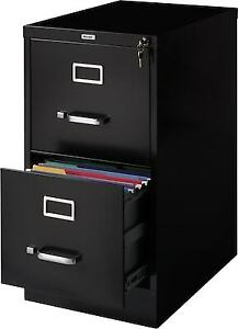 Staples 2 drawer Vertical File Cabinet