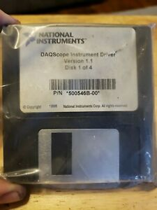 4a3 National Instruments Daqscope Instrument Driver Software 500546b 00