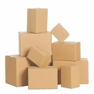 Shipping Boxes Packing Mailing Corrugated Many Sizes Available 25 50 75 100 Qty