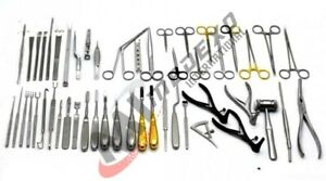 Major Nasal Set Of 72 Pieces Surgical Ent Instruments