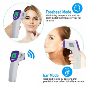 Non contact Infrared Thermometer Digital Electronic Hand held Body Forehead Gun