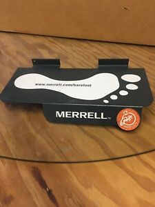 20 Nice Metal Merrell Slatwall Retail Display Shelves Shelf Shoe