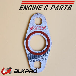 Turbo Oil Drain Gasket Made In Usa Material For Dodge 5 9 6 7 Cummins 5 9l 6 7l