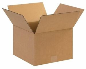 50 12x12x8 Shipping Box Packing Mailing Corrugated